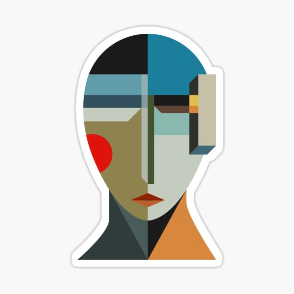 WOMAN OF WHEN Sticker