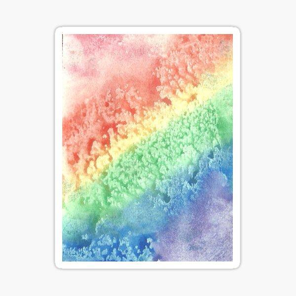 The Rainbow's Stardrops Roll Sticker