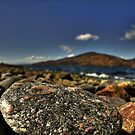 The beach at Glenelg by Drodbar