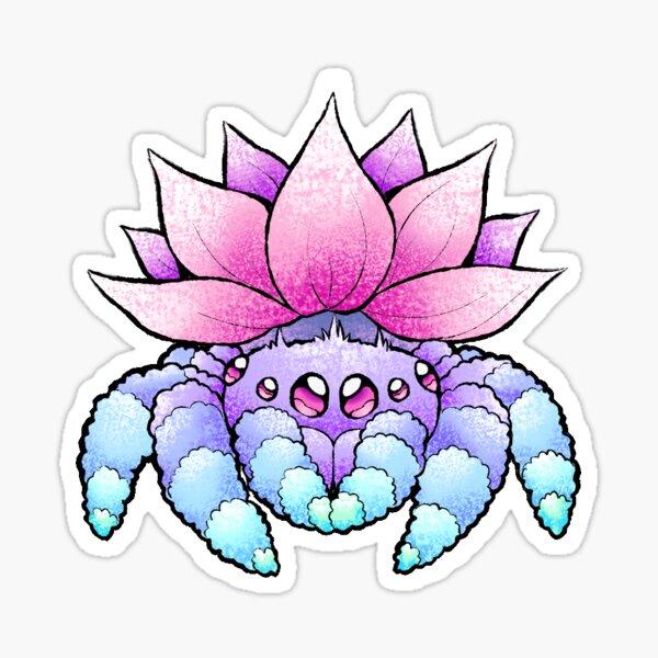 Lotus Spider Sticker