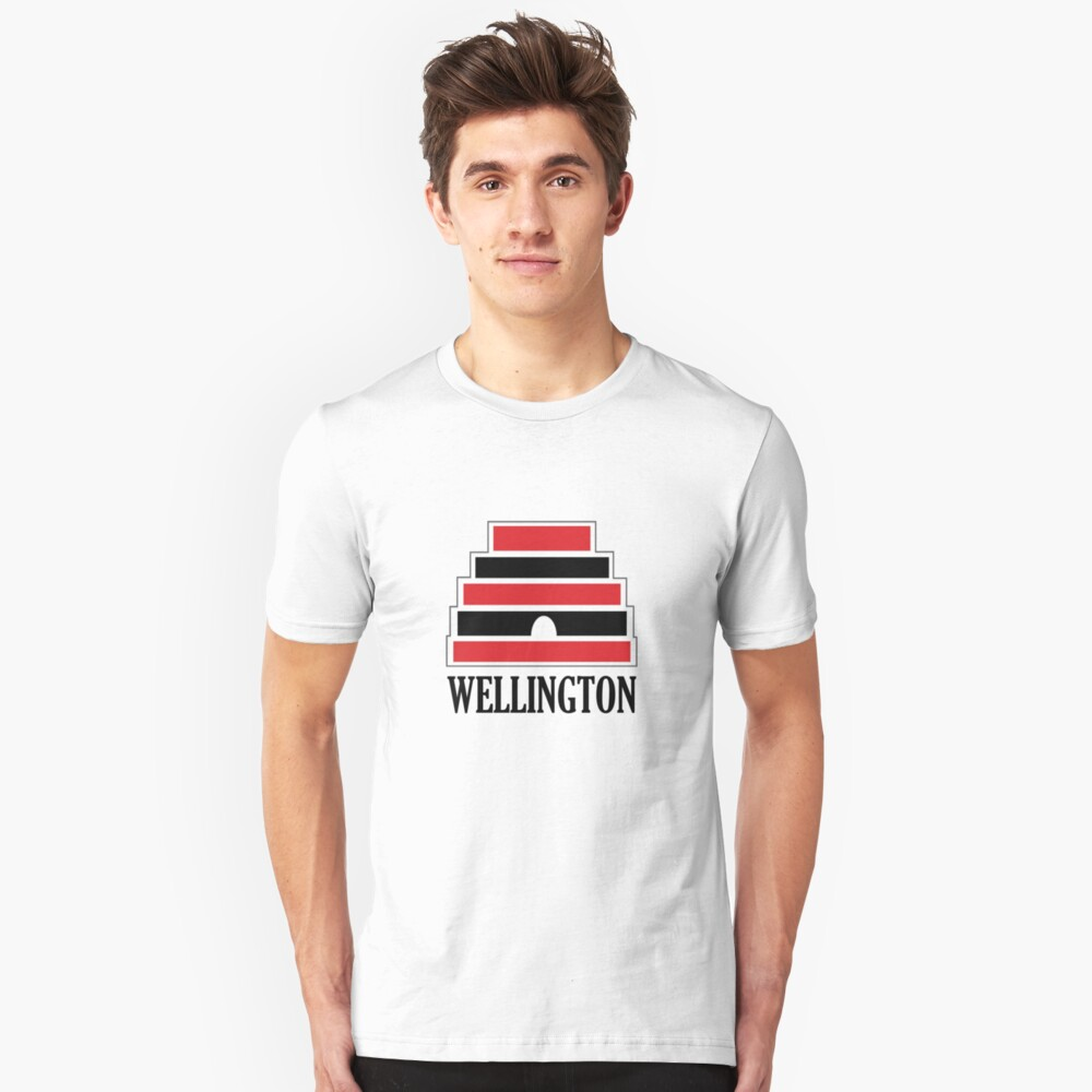 Wellington Unisex T-Shirt Front