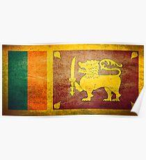 Sri Lanka - Vintage Poster