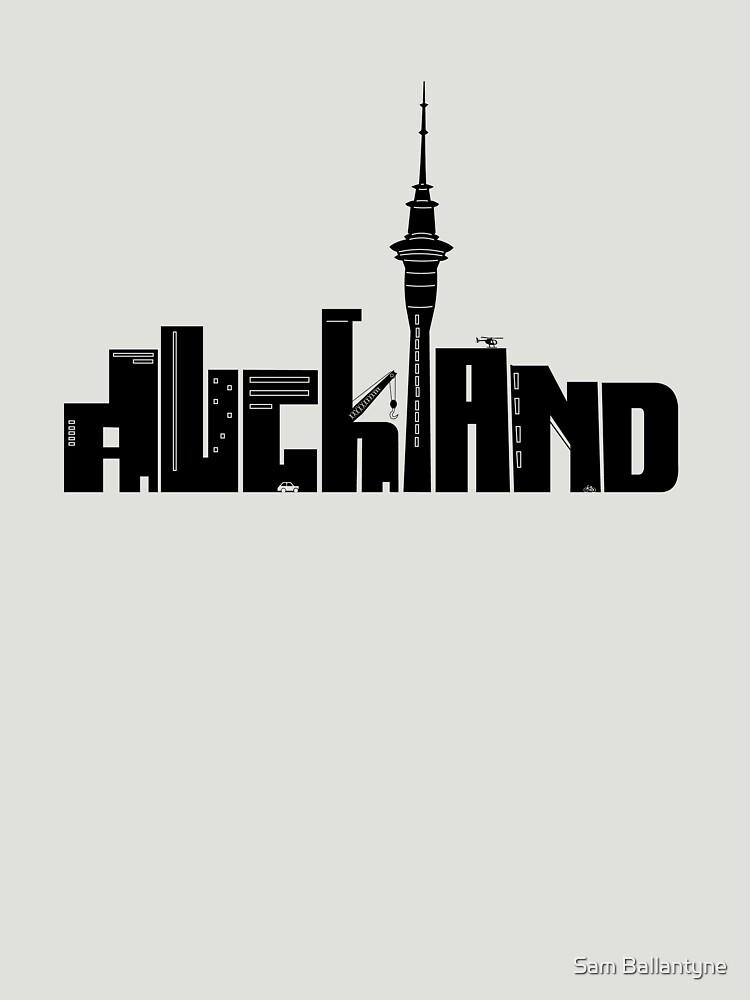 Auckland by samuelballantyne