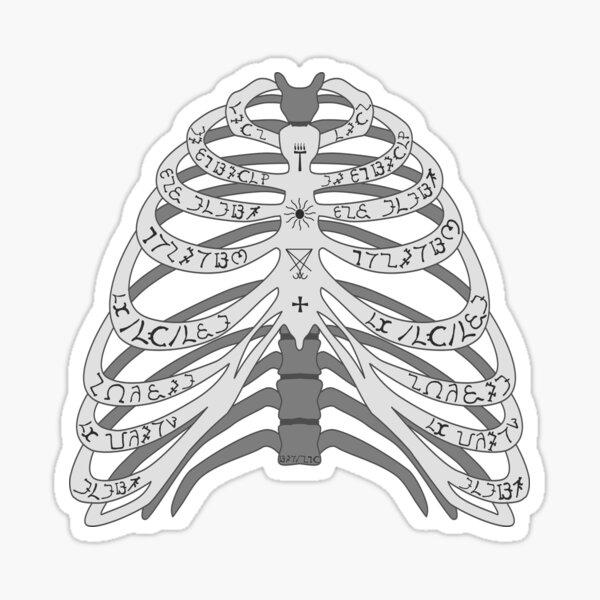 The Bones of a Winchester Sticker