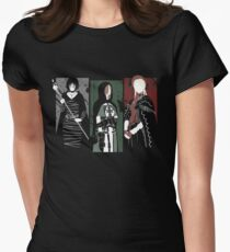 Souls Waifus Women's Fitted T-Shirt
