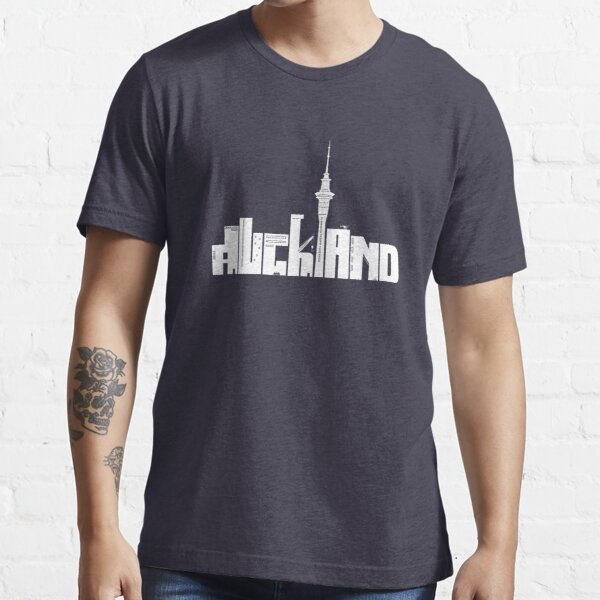 Auckland (white) Essential T-Shirt