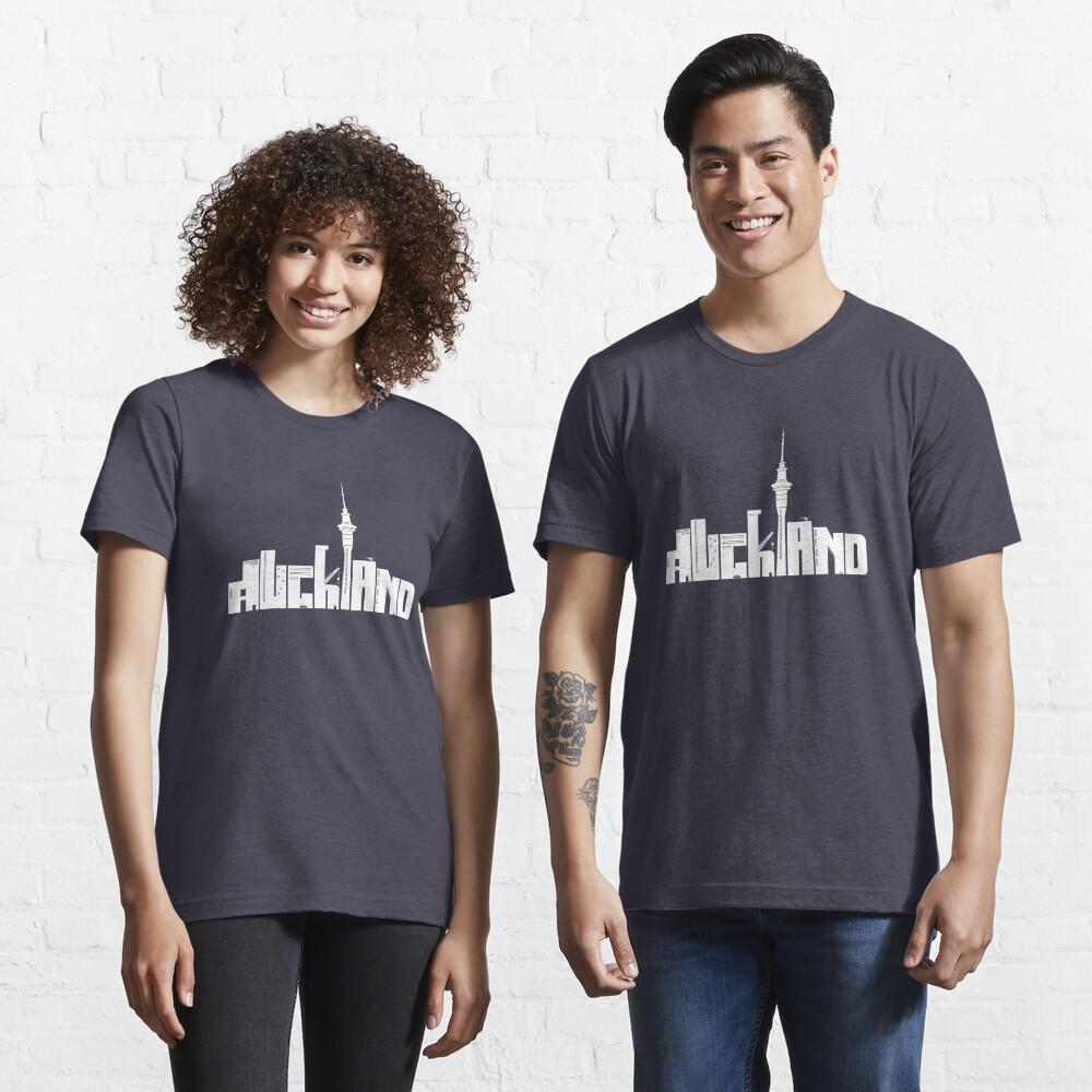 Auckland (white) Essential T-Shirt