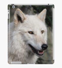 Grey Wolf Portrait iPad Case/Skin