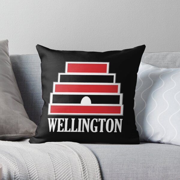 Wellington (white) Throw Pillow