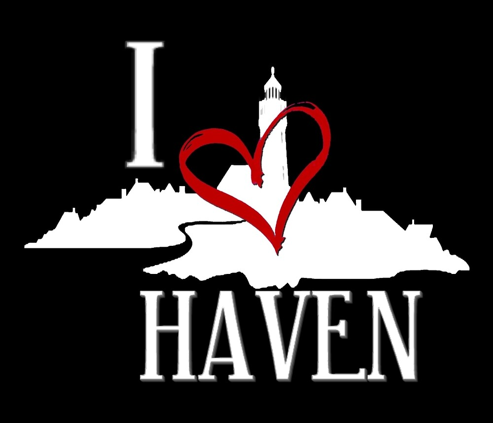 I Love Haven White Logo by HavenDesign