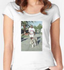 Mike Tyson T-Shirts Tailliertes Rundhals-Shirt