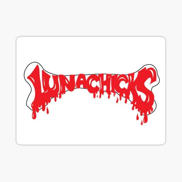 lunachicks  Sticker