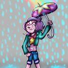 Regenbogen-Tropfen von TheVioletWitch