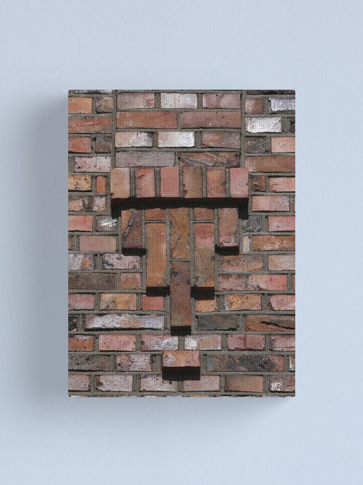 Alternate view of Beautiful brick (12) - small decoration Canvas Print