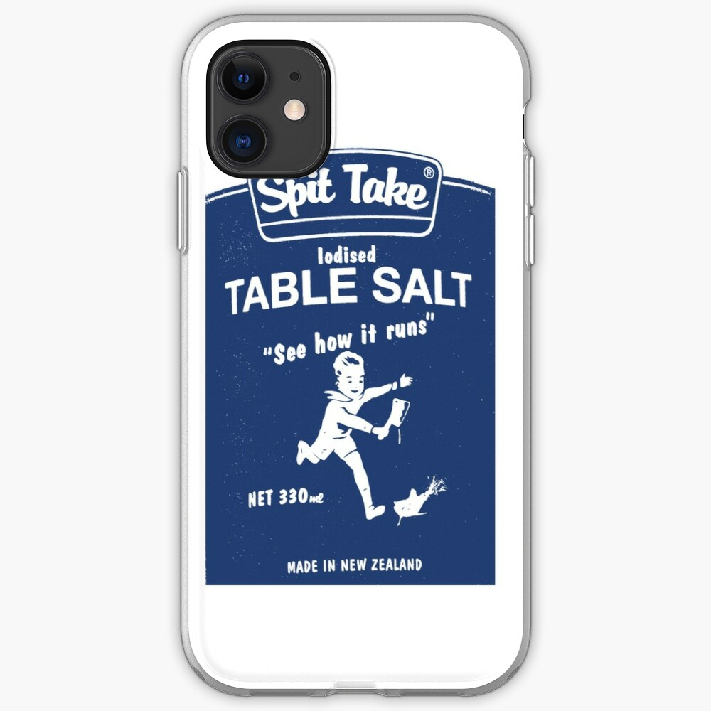 SPIT TAKE iPhone Case & Cover