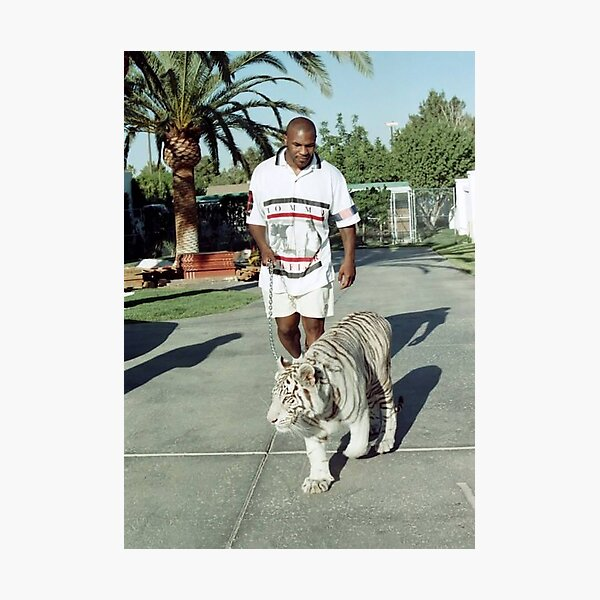 Mike Tyson T shirts Photographic Print