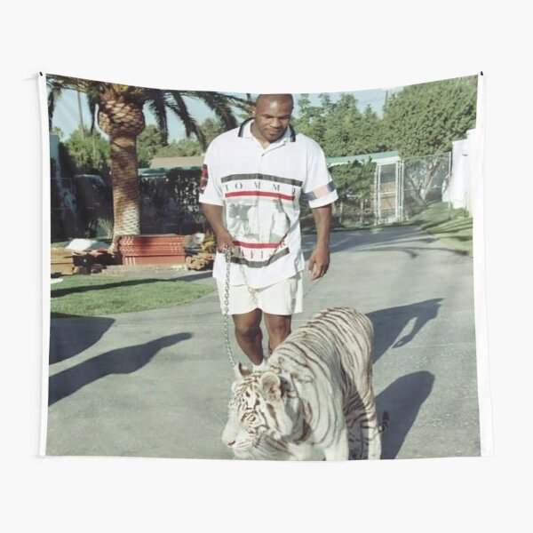 Mike Tyson T shirts Tapestry