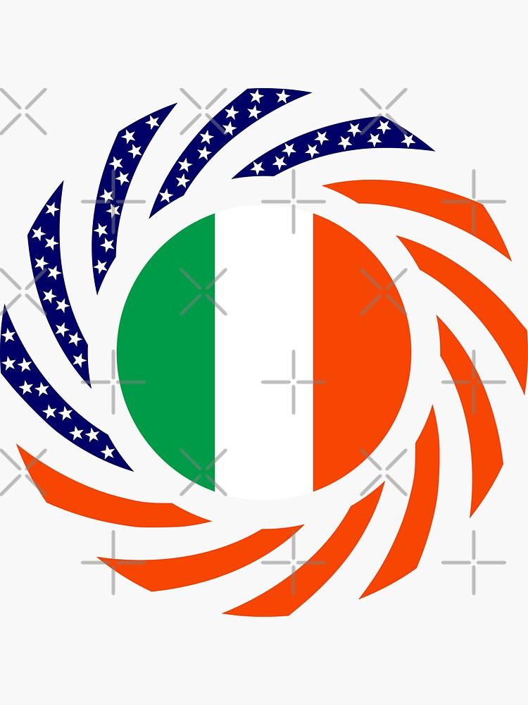Irish American Multinational Patriot Flag Series by carbonfibreme