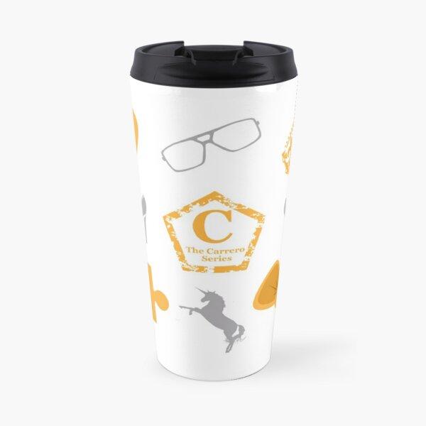 Official white Carrero fabric Travel Mug