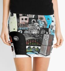 Boxed On Tower Mini Skirt