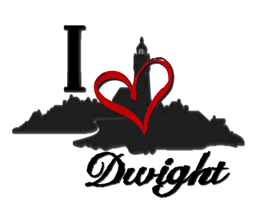 Haven I Love Dwight Logo by HavenDesign