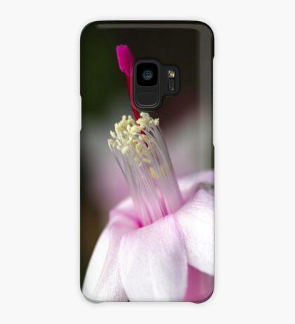 Pink Zygocactus Case/Skin for Samsung Galaxy