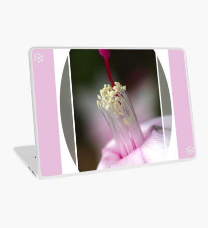Pink Zygocactus Laptop Skin
