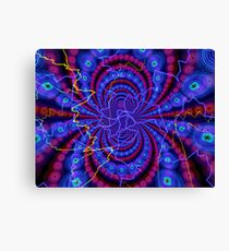 Fractal Art DMT torus (gif) by Shootababylone Watch Digital Art / Animation Shootababylone #colorfull #deep #enter #enterthevoid fractal mind mystik Canvas Print