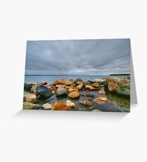 greenwich bay Greeting Card
