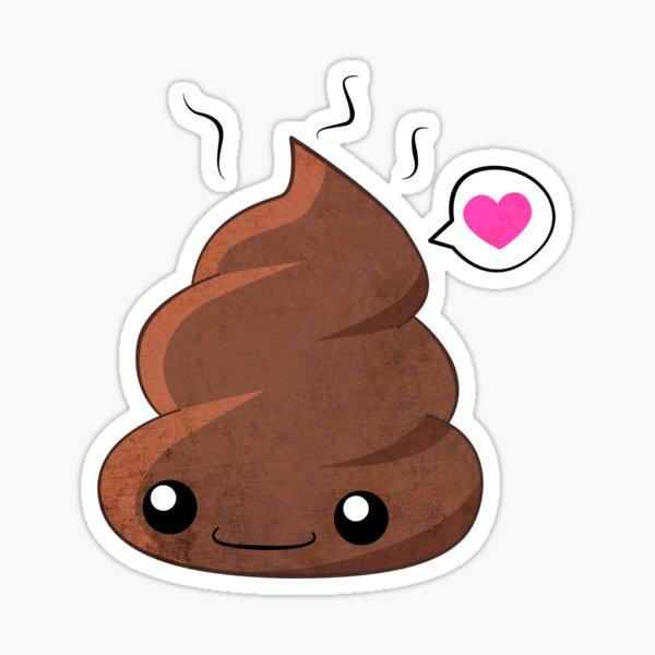 Poop Love Sticker