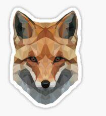 Geometrischer Fuchs Sticker