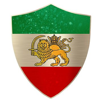 Persia Flag Shield by ockshirts