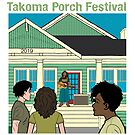 Takoma Porch Festival T-Shirt by PlanetNine