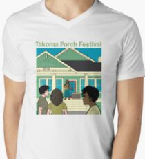 Takoma Porch Festival T-Shirt V-Neck T-Shirt