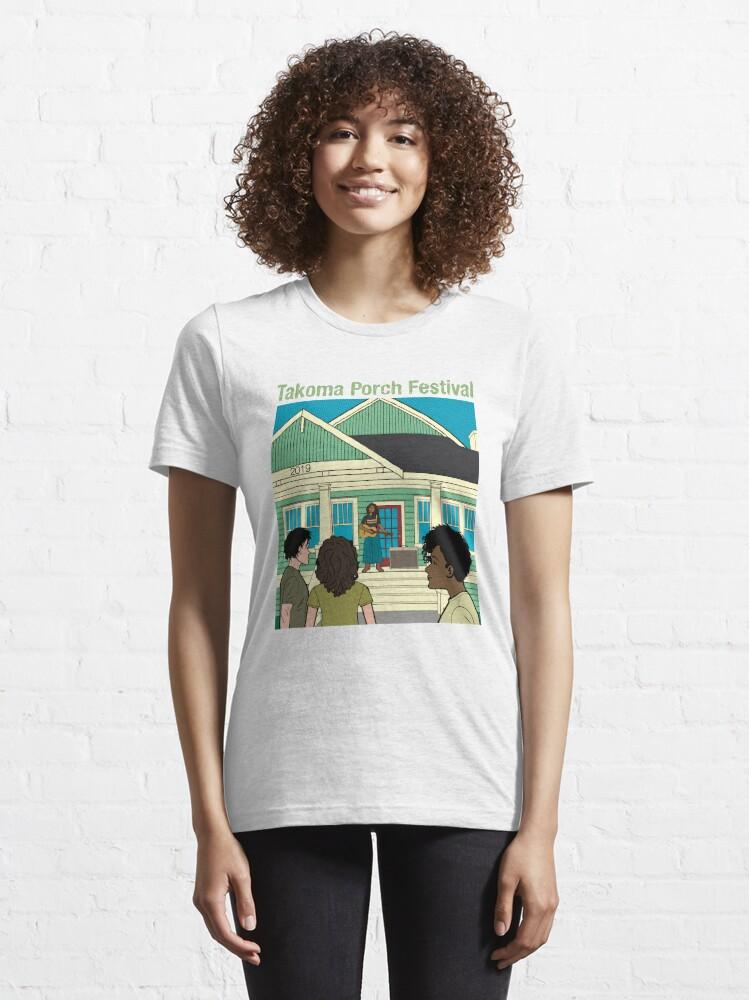 Alternate view of Takoma Porch Festival T-Shirt Essential T-Shirt