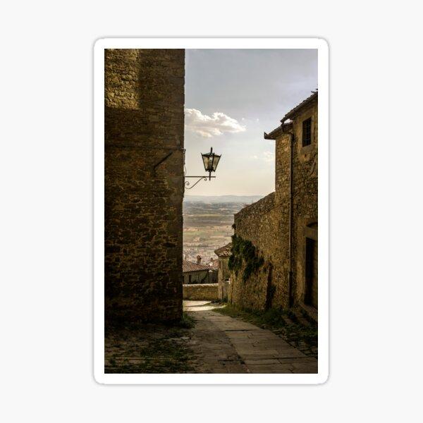 Cortona, Tuscany Sticker