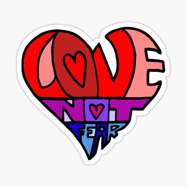 #LoveNotFear Sticker