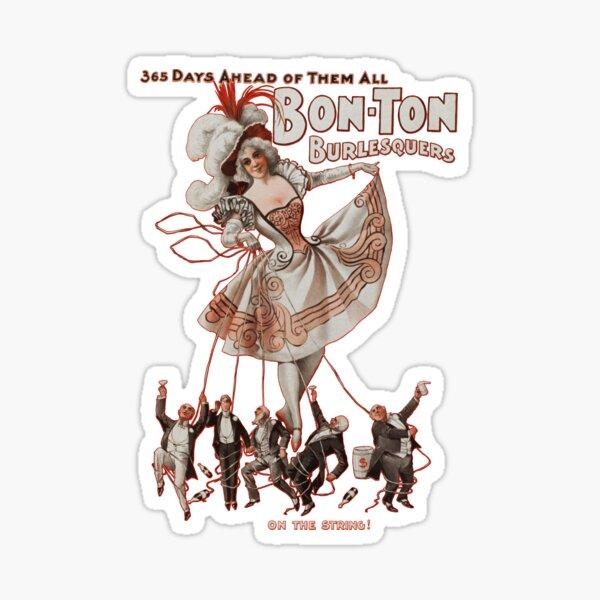 Bon-Ton Burlesquers - 365 days Sticker