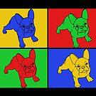 «Bulldog francés, perro, arte pop» de nijess