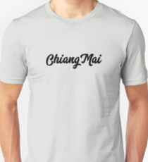 Chiang Mai Script Slim Fit T-Shirt