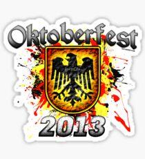 Oktoberfest Eagle Shield 2013 Sticker