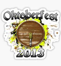Oktoberfest Keg 2013 Sticker