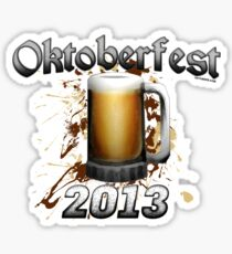 Oktoberfest Beer Mug 2013 Sticker