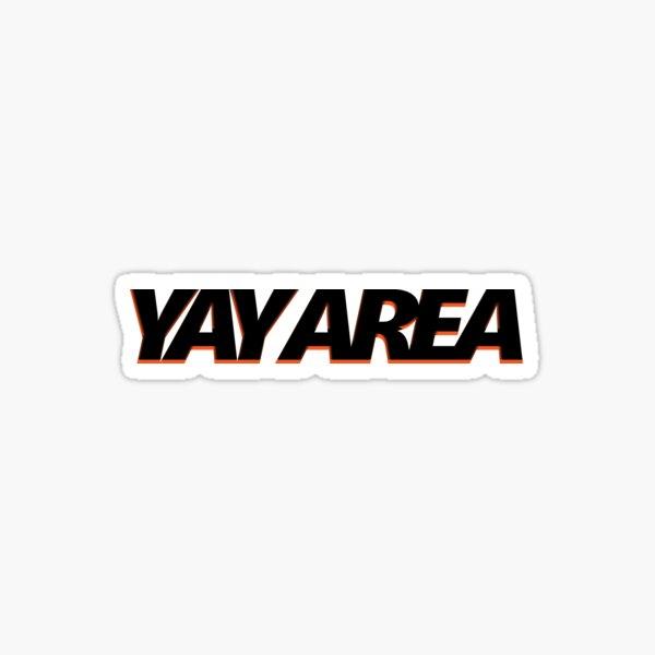 Yay Area (Giants-Themed) Sticker