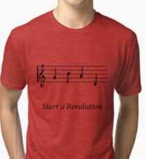 Start a Revolution Tri-blend T-Shirt