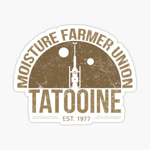 Moisture Farmer Union (brown) Sticker
