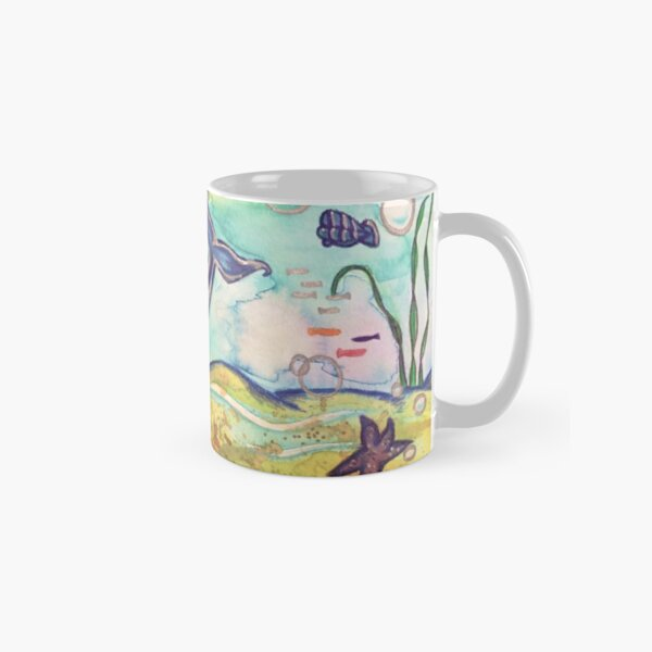 Happy Whale Classic Mug