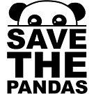 «Salva a los pandas, diciendo» de nijess