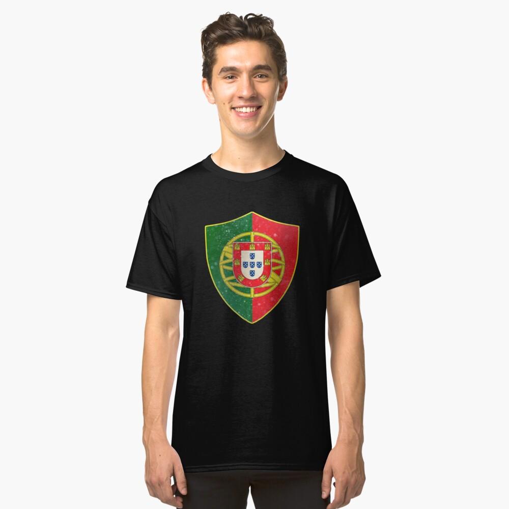 Portugal Flag Shield Classic T-Shirt