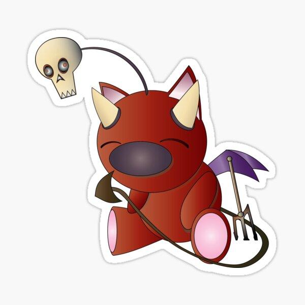 The Devil Moogle! Sticker
